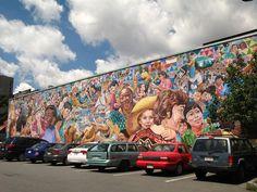 mural in Central Square