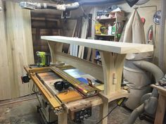 I built a bench!