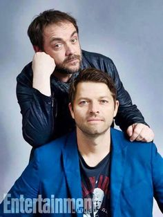 lovespn @lovespnecb   @mishacollins @Mark_Sheppard say you have been fantastic is little ... Great too! together you are a great couple <333 THX