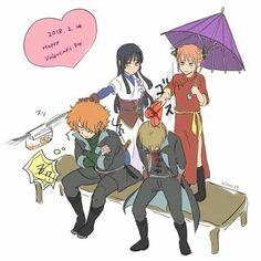 Anime Manga, Anime Guys, Okikagu Doujinshi, Gintama, Cool Sketches, Asuna, Animated Cartoons, Anime Art Girl, Anime Comics