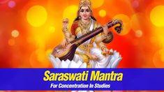 Saraswati Mantra For Concentration In Studies   OM Shreem Hreem Saraswat...