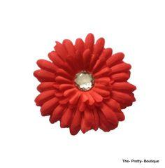 Hair Flowers Adult/Children Red £2 #hairaccessories #flower #adult #children #red #fashion #accessories