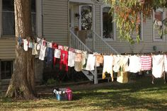 There is nothing like the smell of line-dried laundry. - GRIT Magazine