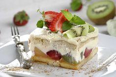 Tiramisú de frutas con mascarpone Italian Pastries, Cake & Co, Delicious Magazine, Sweets Cake, My Dessert, Delicious Fruit, Fruit Recipes, Four, Cake Cookies