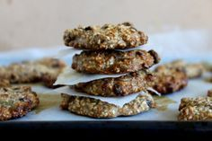 If you must eat a cookie....these are great.  Banana Breakfast Cookies #PetiteKitchen