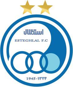 Esteghlal Tehran F. Union Soccer, Soccer Flags, Mls Soccer, Major League Soccer, Soccer Kits, Gym Design, Flags Of The World, Logo Sticker, Arabic Words