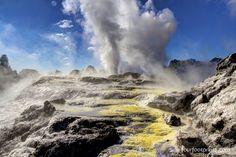 Pohutu Geyser, Te Puia, Rotorua