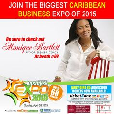 If you live in the greater Toronto area come and check out my booth at the Toronto Caribbean Business Expo!