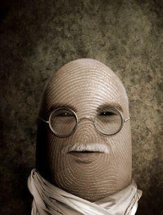 Pulgares célebres: Gandhi