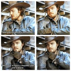 The Musketeers - Series 1 DVD extras, everyone got that?