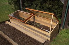 How to build a cold frame and continue growing your herbs and vegetables through winter. I do and I use a cold frame to protect plants from winter.