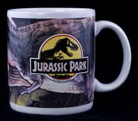 Jurassic Park 1992 Universal Studios T REX Dinosaurs Coffee Mug