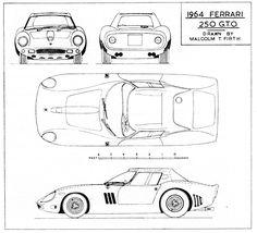 Ferrari 250 GTO Series II (1964) | SMCars.Net - Car Blueprints Forum