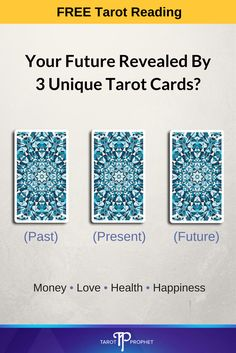 SPECIAL OFFER TODAY: Free Tarot Reading from leading psychic and tarot reader, Sophia Loren. Discover secrets that lie in your past, present, and future with this tarot spread. What do your cards say about you? CLICK the image to visit the website 3 Card Tarot Spread, Tarot Card Spreads, Tarot Cards, Numerology Numbers, Numerology Chart, Numerology Calculation, Free Tarot Reading, Tarot Readers, Meaning Of Life