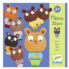 Djeco Spiel Memory Bär - ein Klassiker für Kinder ab 3 Jahren