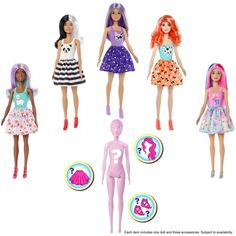 DOLL STANDS 10 PACK BARBIE /& KEN COMPATIBLE AVA STARS