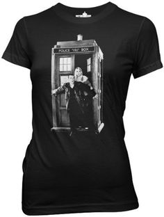 Doctor Who Ninth Doctor With Rose Juniors T-shirt