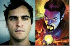 El Cine de Superheroes: Joaquin Phoenix muy cerca de ser Doctor Extraño.