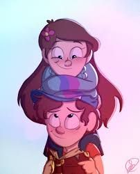 Mabel and Dipper, Gravity Falls