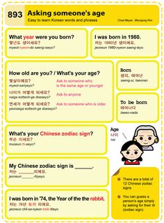 Easy to Learn Korean 893 - Asking Someone's Age. Chad Meyer and Moon-Jung Kim EasytoLearnKorean.com