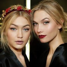 By Pat McGrath for Dolce & Gabbana  Left : for akad nikah - a bit more pink/blush toned Right : for reception