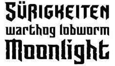 Sunrise Till Sunset International OT published by Comicraft. #halloween #typography #fonts
