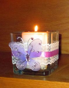 Hey, I found this really awesome Etsy listing at https://www.etsy.com/listing/181578673/wedding-votive-candle-holder-butterfly