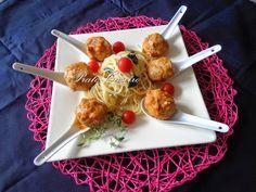 Almôndegas Acompanhadas com Esparguete | por Prato Caseiro | feito com o nosso piri-piri moído e o nosso piri-piri em aguardente