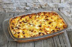 Pudding, Romanian Food, Desert Recipes, Hawaiian Pizza, Lasagna, Quiche, Good Food, Food And Drink, Cooking Recipes