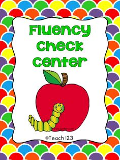 Teach123 - tips for teaching elementary school: Free Fluency Center