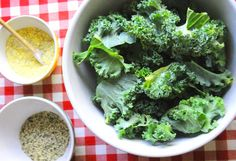 All-Dressed Kale Chips: Achieve crispy, cheesy kale chip perfection with this 30-minute recipe.