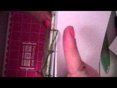 ▶ Easy Handmade Coptic Stitch Journal/Notebook Tutorial Part 4 - YouTube