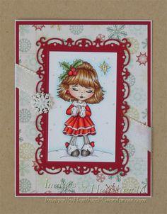 "HeatherM using Lacy Sunshine ""MelanieBoo The Christmas Star"" digi"