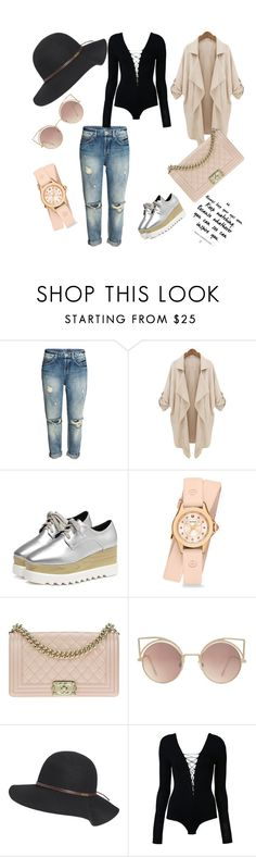 """""""😎😁"""" by emminna ❤ liked on Polyvore featuring Michele, Chanel, MANGO, Billabong and T By Alexander Wang"""