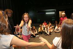 Noite branca no teatro, un dos programas do Fiotiño, o FIOT dos máis cativos #FIOT25