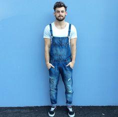 Nathan McCallum. Fashion blogger.