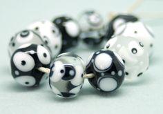 Meagan Lily Lampwork Mono Beads made 27/04/14
