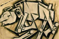 Star Wars goes Cubist. Once the much-maligned painting style of Absinthe-fuelled bohemians, Cubism has been given new life by American artist Tommervik.