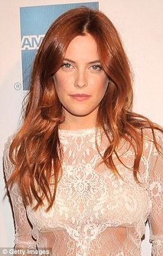 Elvis Presley's granddaughter Riley Keough showed off a strikingly similar look to her mother Lisa Marie at the Tribeca Film Festival on Wednesday