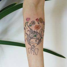 Girl tattoo ❤ Tpm - Tatuagem Para Mulheres