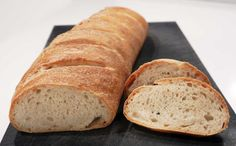 French Bread - Slow fermentation with a wet pre-ferment (poolish)
