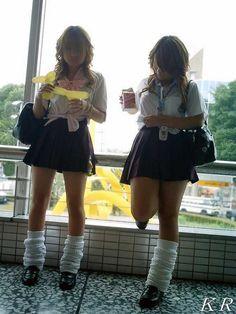 Erica Morton's media statistics and analytics Japanese School Uniform Girl, School Uniform Fashion, School Girl Japan, School Girl Outfit, Girl Outfits, Cute Outfits, Fashion Outfits, Womens Fashion, Gyaru Fashion