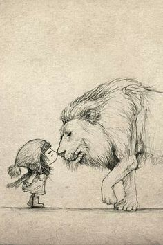 Image result for lion courage dear heart tattoo