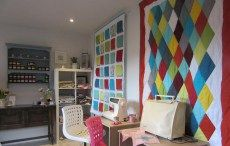 See Adaliza's Workshop Timetable for patchwork & quilting workshops in Winchester, Hampshire - www.adaliza.co.uk Patchwork Quilting, Quilts, Winchester Hampshire, Fabric Storage, Sewing Studio, Be Kind To Yourself, Workshop, Curtains, Garden