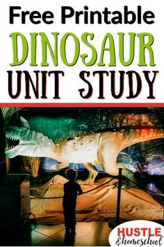 Get this FREE dinosaur unit study for your budding paleontologists. This is a fun, 4 week unit study with: hands-on activities books games poetry writing pages and more! This is a digital product. Secular Homeschool Curriculum, Homeschooling Resources, Homeschool Worksheets, Homeschool Blogs, Science Curriculum, New Scientific Discoveries, University Of Alberta, Evolution, Homeschool Kindergarten