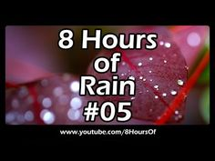 8 hours of rain sounds for sleep, relaxation, meditation, studying, yoga.  Please like, subscribe and comment if you enjoyed this video. It will really help me out a lot. :)  http://www.youtube.com/subscription_center?add_user=8hoursof
