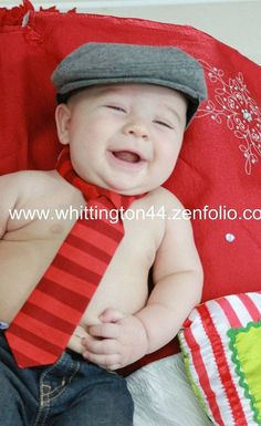 So cute! have to find a hat like this so little man can match his dad!