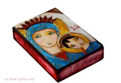 Our Lady of Perpetual Help III  Aceo Giclee print by FlorLarios, $10.00