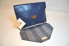 J&C JACKYCELINE Marken Handtasche, Damentasche, Echte- Ledertasche 2in1 Desin