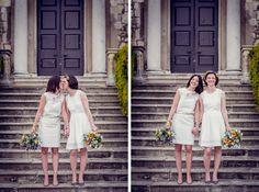 Hazlewood Castle Wedding Photography - Laetitia and Kate